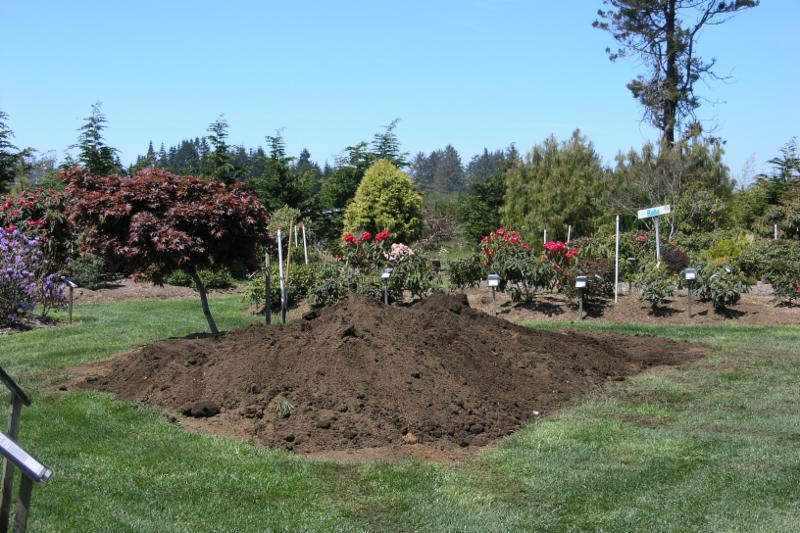 Start with a pile of soil